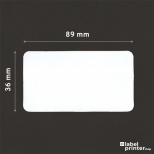 Dymo 99012 compatible labels, 36 x 89mm, 260 etiketten